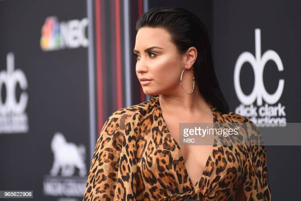 AWARDS Red Carpet Arrivals 2018 BBMA's at the MGM Grand Las Vegas Nevada Pictured Demi Lovato