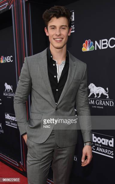 AWARDS Red Carpet Arrivals 2018 BBMA's at the MGM Grand Las Vegas Nevada Pictured Shawn Mendes
