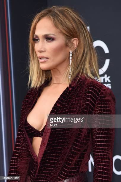 AWARDS Red Carpet Arrivals 2018 BBMA's at the MGM Grand Las Vegas Nevada Pictured Jennifer Lopez