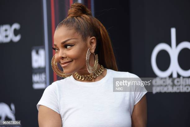 AWARDS Red Carpet Arrivals 2018 BBMA's at the MGM Grand Las Vegas Nevada Pictured Janet Jackson