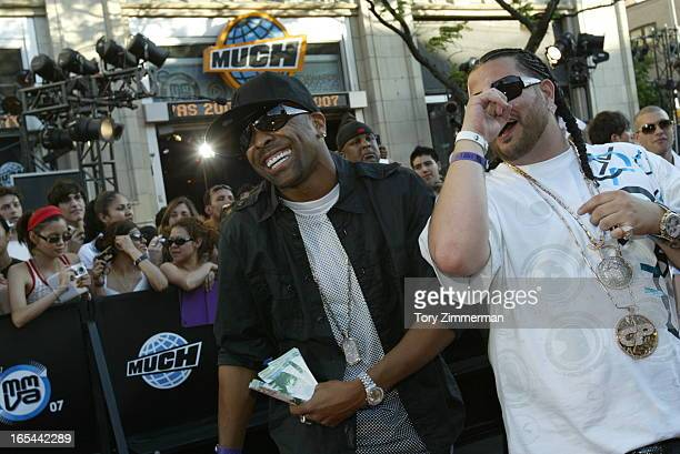 MMVAS Red carpet arrivals at the Much Music Video Awards In this pic Belly and GenuIne have a laugh on the carpet