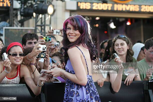 MMVAS Red carpet arrivals at the Much Music Video Awards In this pic Joss Stone