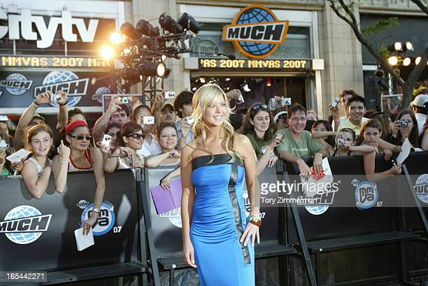 MMVAS Red carpet arrivals at the Much Music Video Awards In this picTAra reid