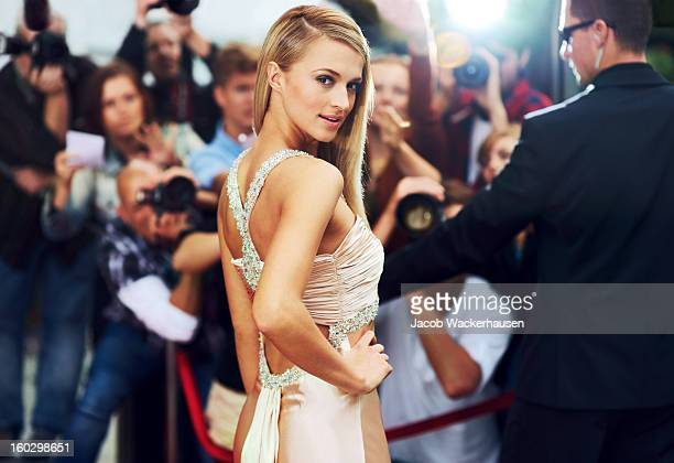 red carpet glamour - actress stock pictures, royalty-free photos & images