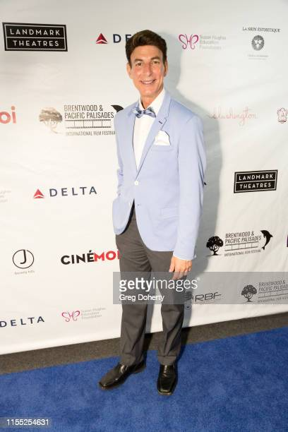 Red Carpet Host BJ Korros attends the Brentwood and Pacific Palisades International Film Festival at the Landmark Theater on June 10 2019 in Los...