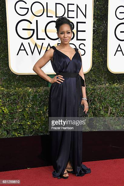 Red carpet host Liza Koshy attends the 74th Annual Golden Globe Awards at The Beverly Hilton Hotel on January 8 2017 in Beverly Hills California