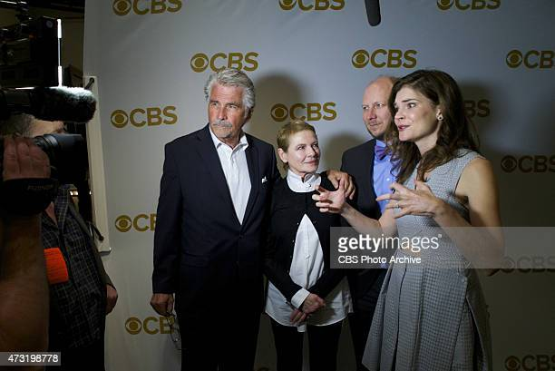 Red carpet interviews before the CBS Upfront 2015 at Carnegie Hall May 13 2015 in New York City Cast members from the new CBS comedy LIFE IN PIECES...
