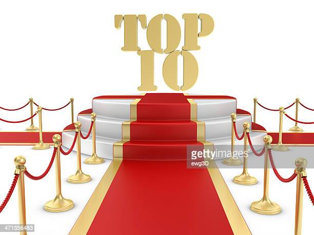 Red Carpet on the Stairs and TOP 10