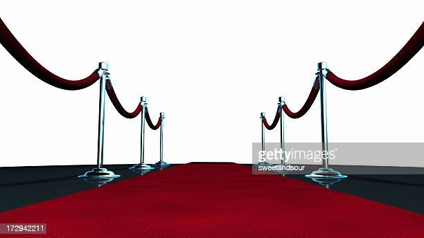 red carpet on white - film premiere stock pictures, royalty-free photos & images