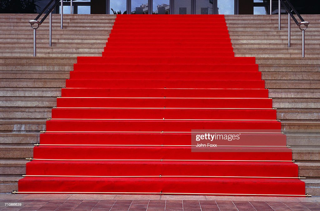 red carpet : Stock Photo