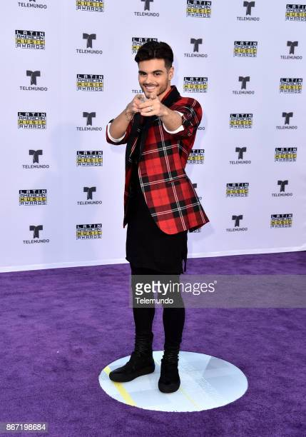 AWARDS 'Red Carpet' Pictured Abraham Mateo at the Dolby Theatre in Hollywood CA on October 26 2017