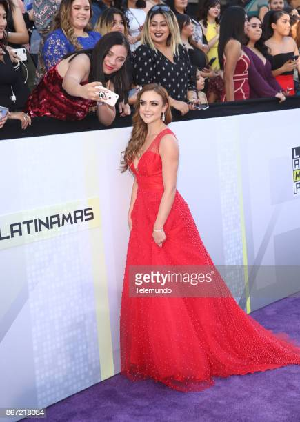 AWARDS 'Red Carpet' Pictured Ana Belena at the Dolby Theatre in Los Angeles CA on October 26 2017