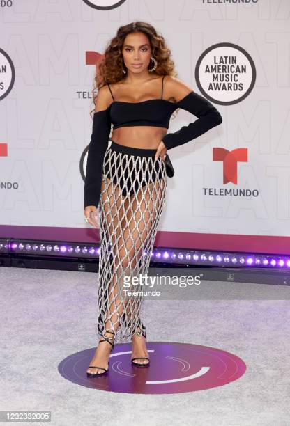 """Red Carpet"""" -- Pictured: Anitta at the BB&T Center in Sunrise, FL on April 15, 2021 --"""