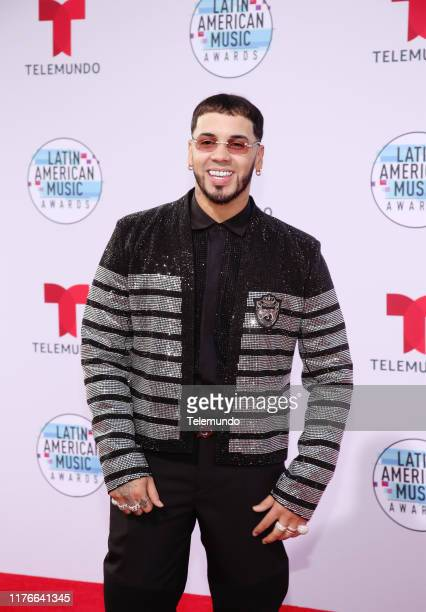 AWARDS Red Carpet Pictured Anuel AA at the Dolby Theatre in Hollywood CA on October 17 2019