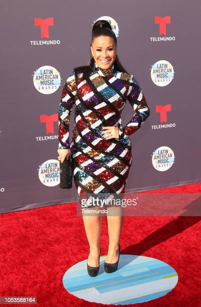 AWARDS Red Carpet Pictured Carolina Sandoval at the Dolby Theatre in Hollywood CA on October 25 2018