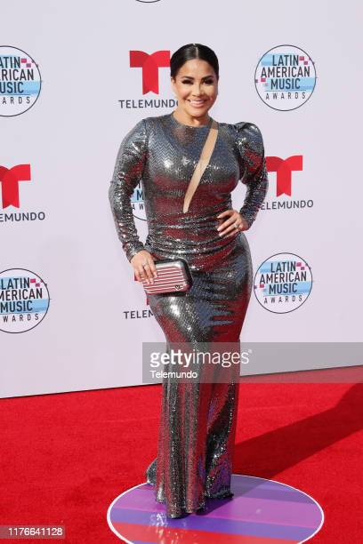 AWARDS Red Carpet Pictured Carolina Sandoval at the Dolby Theatre in Hollywood CA on October 17 2019