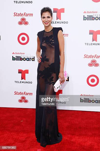 Red Carpet -- Pictured: Catalina Denis arrives at the 2014 Billboard Latin Music Awards, from Miami, Florida at the BankUnited Center, University of...