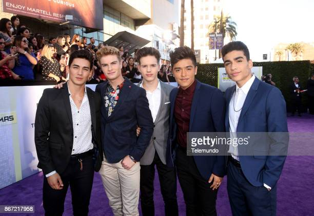 AWARDS 'Red Carpet' Pictured Chance Perez Brady Tutton Michael Conor Sergio Calderon and Drew Ramos of musical group In Real Life at the Dolby...