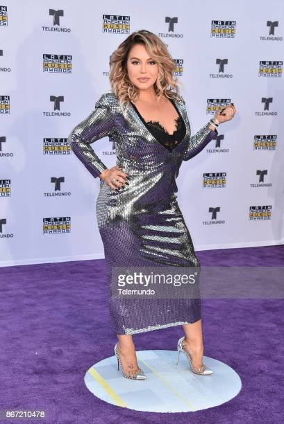 AWARDS 'Red Carpet' Pictured Chiquis Rivera at the Dolby Theatre in Hollywood CA on October 26 2017
