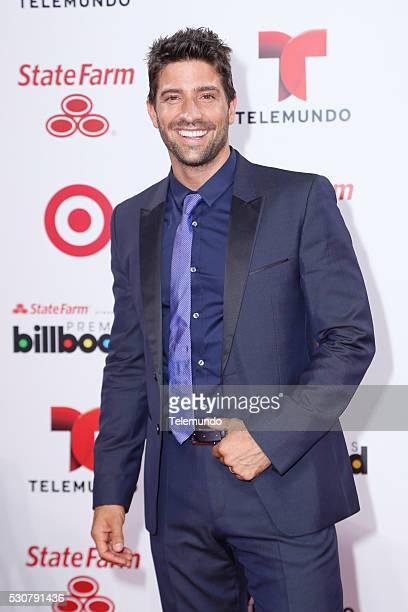 David Chocarro arrives at the 2014 Billboard Latin Music Awards from Miami Florida at the BankUnited Center University of Miami April 24 2014 PREMIOS...