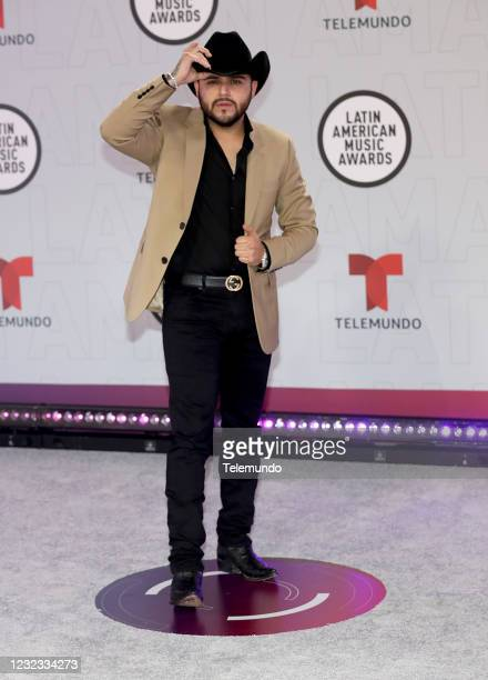 "Red Carpet"" -- Pictured: Gerardo Ortiz at the BB&T Center in Sunrise, FL on April 15, 2021 --"