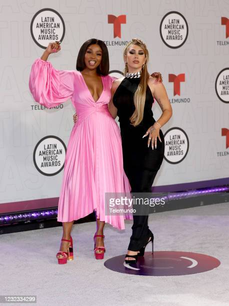"Red Carpet"" -- Pictured: Goyo and Kali Uchis at the BB&T Center in Sunrise, FL on April 15, 2021 --"