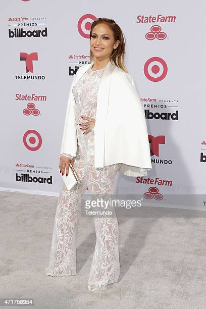Jennifer Lopez arrives at the 2015 Billboard Latin Music Awards from Miami Florida at the BankUnited Center University of Miami on April 30 2015...