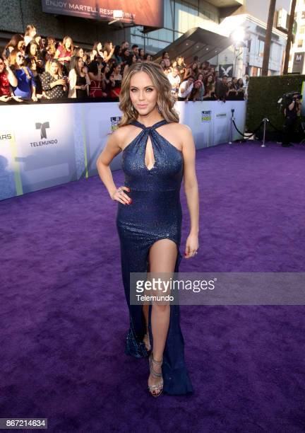 AWARDS 'Red Carpet' Pictured Jessica Carrillo at the Dolby Theater in Los Angeles CA on October 26 2017