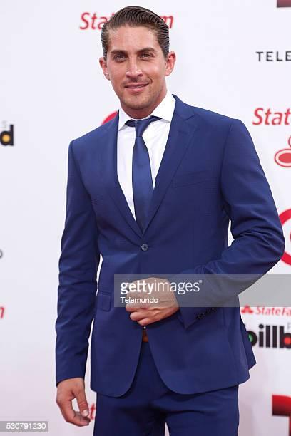 Jonathan Islas arrives at the 2014 Billboard Latin Music Awards from Miami Florida at the BankUnited Center University of Miami April 24 2014 PREMIOS...