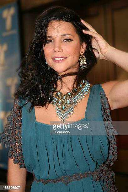 """Red Carpet"""" -- Pictured: Julie Giliberti arrives at the 2007 Telemundo Upfront event on May 15, 2007"""