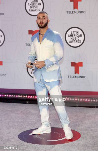 "Red Carpet"" -- Pictured: Manuel Turizo at the BB&T Center in Sunrise, FL on April 15, 2021 --"