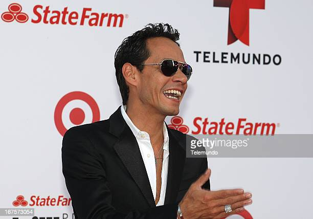 Marc Anthony arrives at the 2013 Billboard Latin Music Awards held at the BankUnited Center University of Miami in Miami Florida on April 25 2013