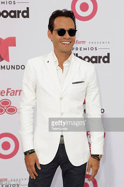 Marc Anthony arrives at the 2015 Billboard Latin Music Awards from Miami Florida at the BankUnited Center University of Miami on April 30 2015...