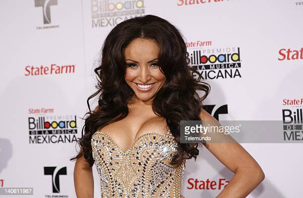 AWARDS Red Carpet Pictured Silvia Del Valle La Bronca arrives at the 2011 Billboard Mexican Music Awards held at The Orpheum in Los Angeles...