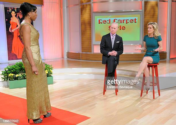THE REVOLUTION Red carpet styles on Walt Disney Television via Getty Images Daytime's new onehour daily talk show The Revolution on Friday Feb 24...