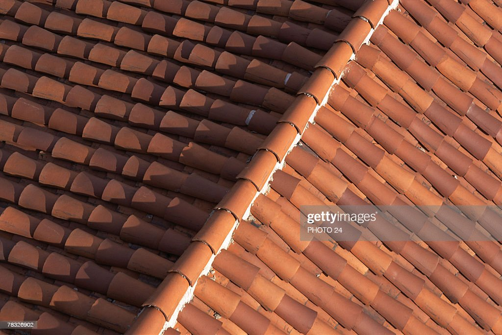 Red Ceramic Tile Roof Stock Photo Getty Images