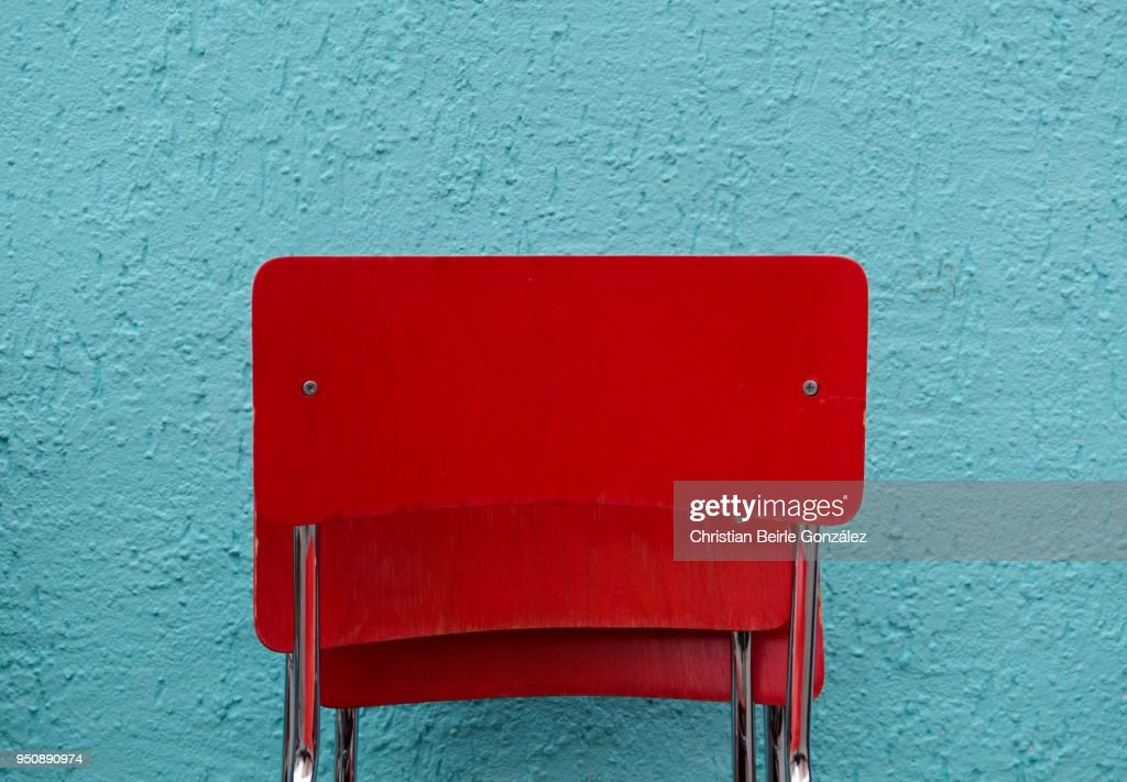 Red Chairs : Stock-Foto
