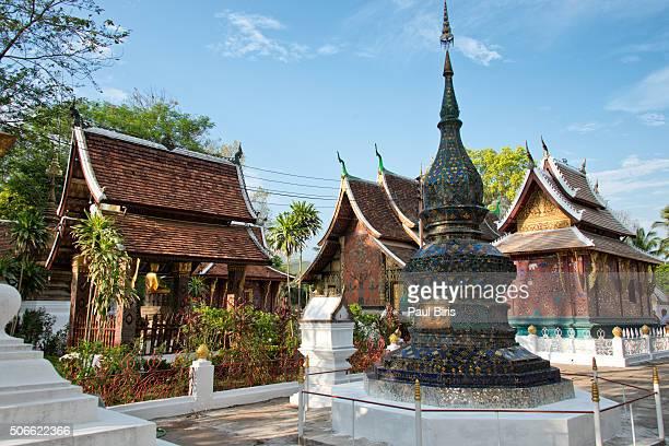 Red Chapel and Sim Wat Xieng Thong, Luang Prabang, Laos