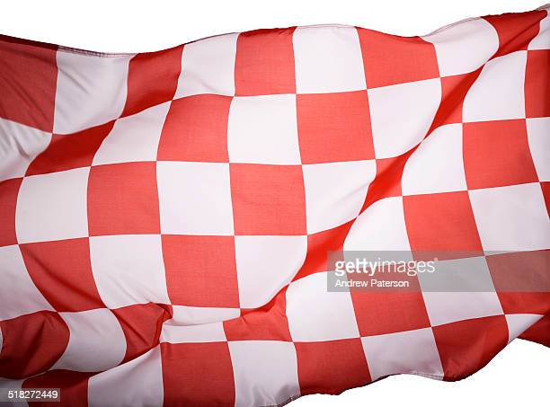 Red chequered flag