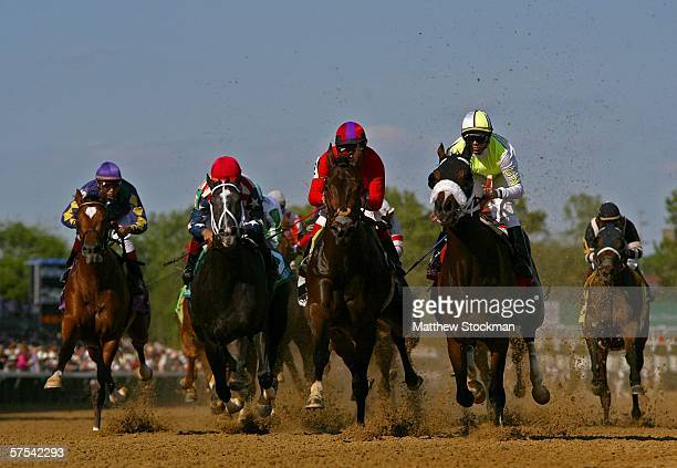 Red Cherries Spin ridden by Corey Nakatani Bushfire ridden by Cornelio Velasquez Diplomat Lady ridden by Alex Solis and Miss Norman ridden by Pablo...