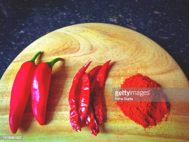 Red Chilies - Fresh, Dried & Powder