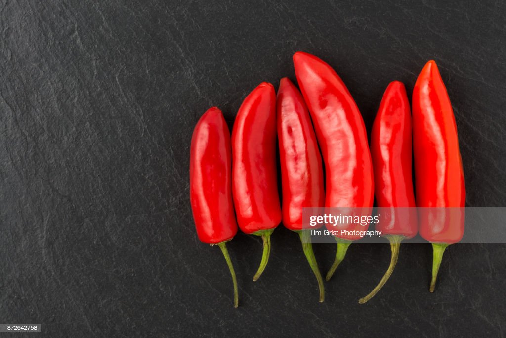 Red Chillies : Stock Photo