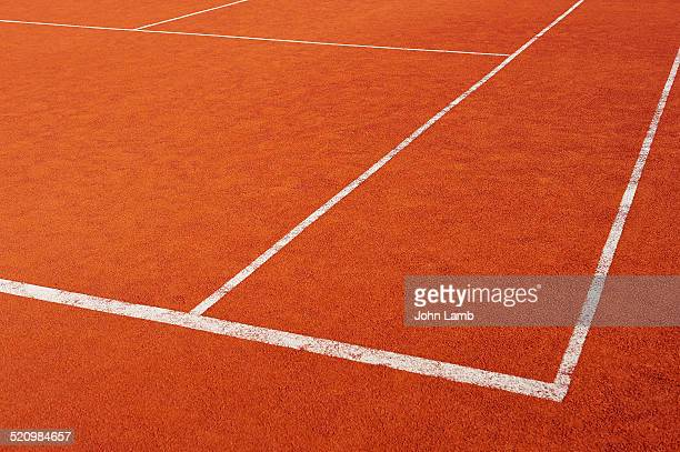 Red clay court