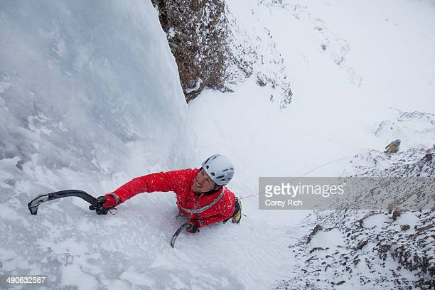 Red Cliff Ice Climbing