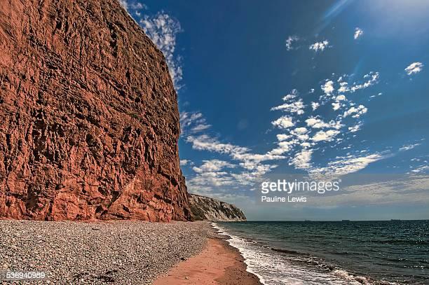 Red Cliffs at Yaverland Beach