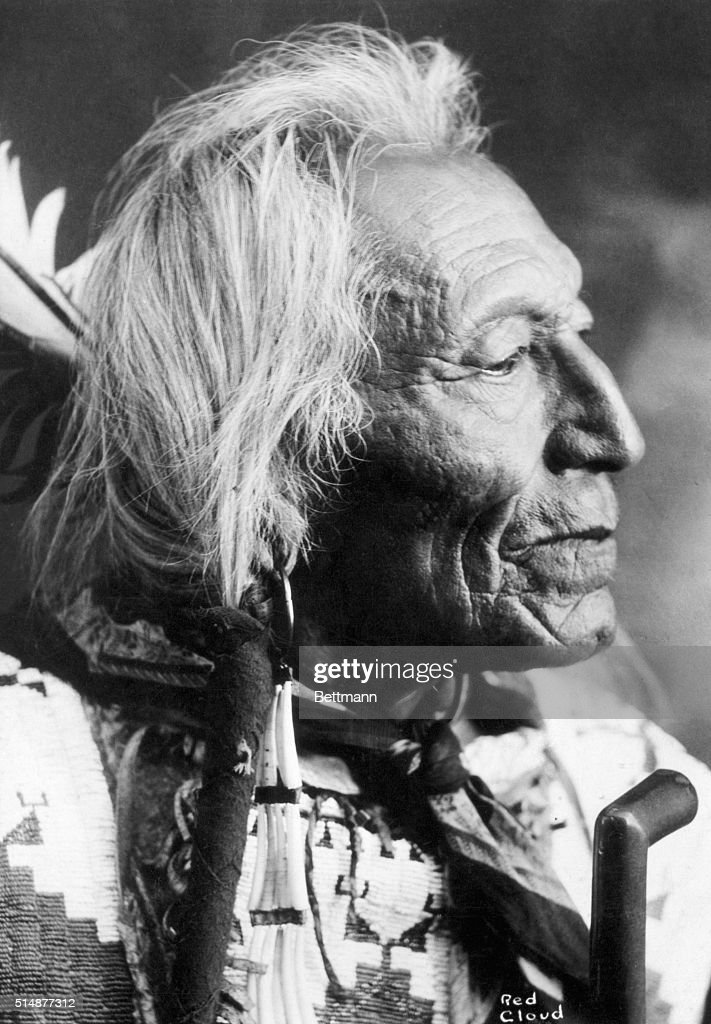 Oglala Sioux Chief Red Cloud : News Photo