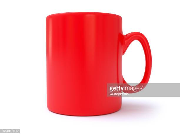 red coffee mug - mug stock pictures, royalty-free photos & images