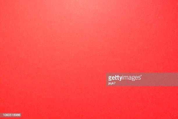 red colored paper background - sfondo a colori foto e immagini stock