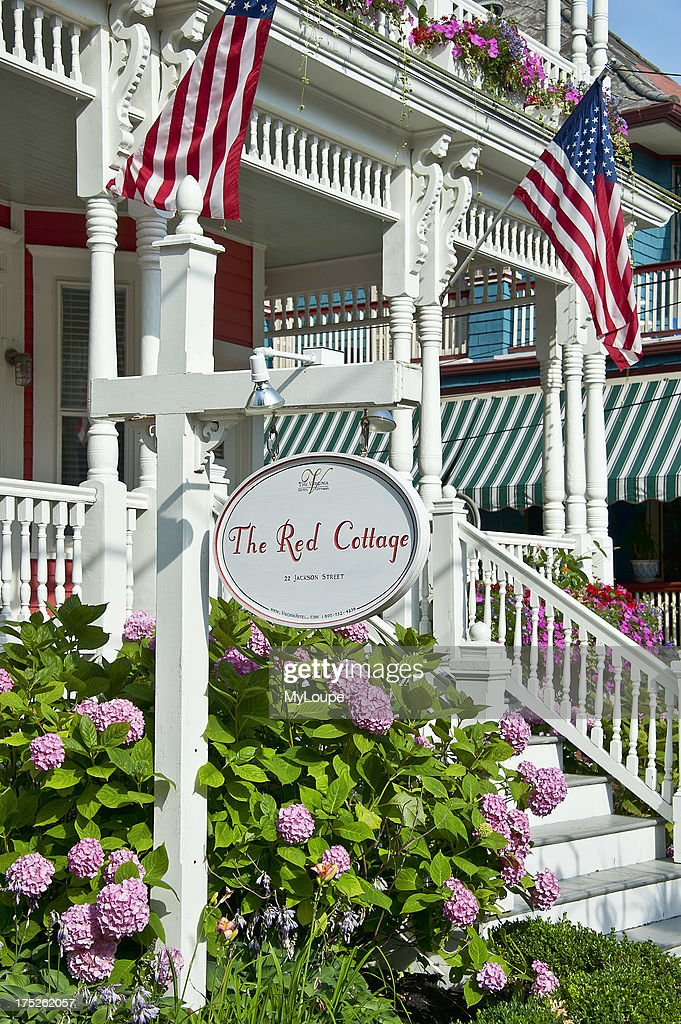 red cottage the virginia hotel cape may nj new jersy usa rh gettyimages com Wildwood NJ Cape May NJ Boardwalk