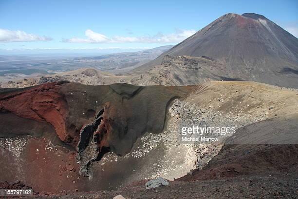Red Crater, Tongariro Crossing, NZ